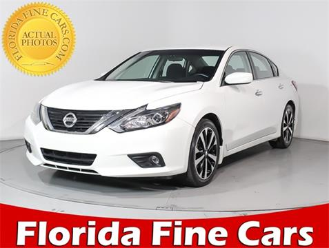 2018 Nissan Altima 2.5 SR for sale at Florida Fine Cars - West Palm Beach in