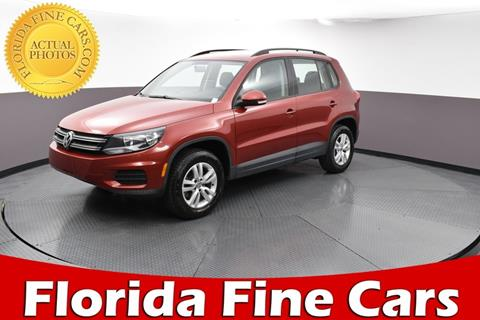 2015 Volkswagen Tiguan for sale in West Palm Beach, FL