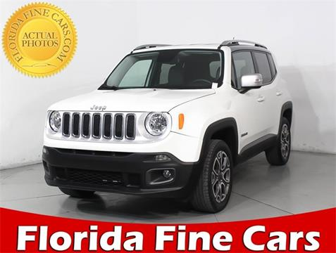 2017 Jeep Renegade for sale in West Palm Beach, FL