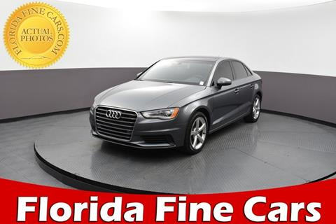 2016 Audi A3 for sale in West Palm Beach, FL