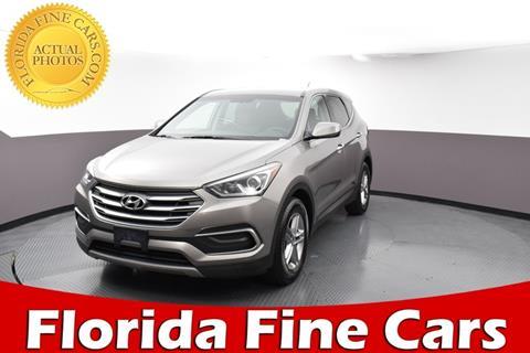 Hyundai West Palm Beach >> 2018 Hyundai Santa Fe Sport For Sale In West Palm Beach Fl