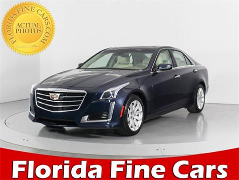 2015 Cadillac CTS for sale in West Palm Beach, FL