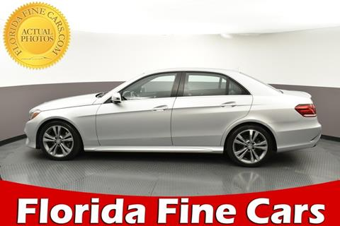 2016 Mercedes-Benz E-Class for sale in West Palm Beach, FL
