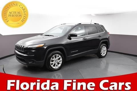 2016 Jeep Cherokee for sale in West Palm Beach, FL