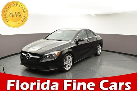 2016 Mercedes-Benz CLA for sale in West Palm Beach, FL