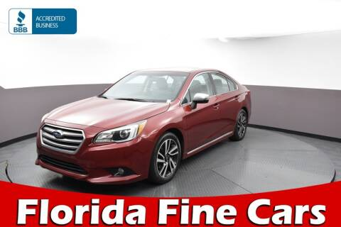 2017 Subaru Legacy for sale at Florida Fine Cars - West Palm Beach in West Palm Beach FL