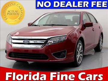 2010 Ford Fusion for sale in West Palm Beach, FL