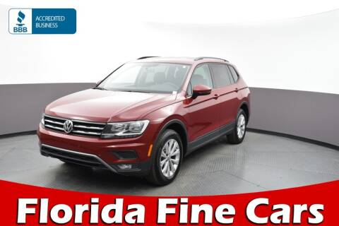 2018 Volkswagen Tiguan 2.0T S for sale at Florida Fine Cars - West Palm Beach in West Palm Beach FL