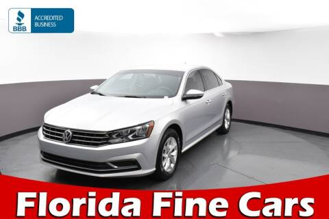 2016 Volkswagen Passat 1.8T S for sale at Florida Fine Cars - West Palm Beach in West Palm Beach FL