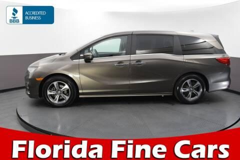 2018 Honda Odyssey for sale at Florida Fine Cars - West Palm Beach in West Palm Beach FL