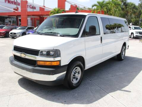 2017 Chevrolet Express Passenger for sale at Florida Fine Cars - West Palm Beach in West Palm Beach FL