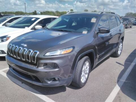 2015 Jeep Cherokee for sale at Florida Fine Cars - West Palm Beach in West Palm Beach FL