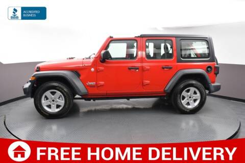2018 Jeep Wrangler Unlimited for sale at Florida Fine Cars - West Palm Beach in West Palm Beach FL