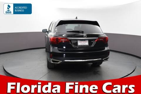 2017 Acura MDX for sale at Florida Fine Cars - West Palm Beach in West Palm Beach FL