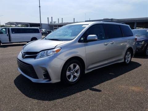 2019 Toyota Sienna for sale at Florida Fine Cars - West Palm Beach in West Palm Beach FL