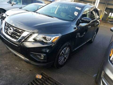 2018 Nissan Pathfinder for sale at Florida Fine Cars - West Palm Beach in West Palm Beach FL
