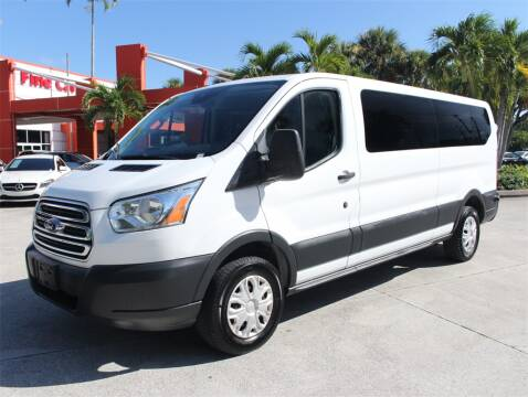 2016 Ford Transit Passenger for sale at Florida Fine Cars - West Palm Beach in West Palm Beach FL