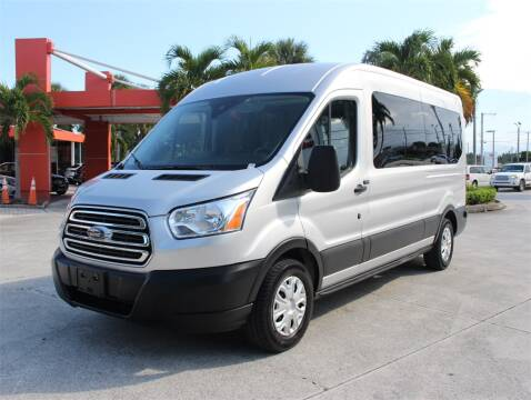 2019 Ford Transit Passenger for sale at Florida Fine Cars - West Palm Beach in West Palm Beach FL