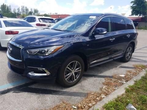 2017 Infiniti QX60 for sale at Florida Fine Cars - West Palm Beach in West Palm Beach FL