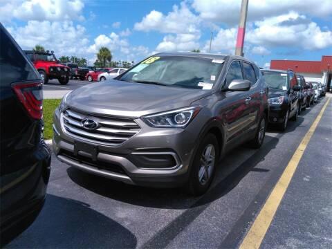 2018 Hyundai Santa Fe Sport for sale at Florida Fine Cars - West Palm Beach in West Palm Beach FL