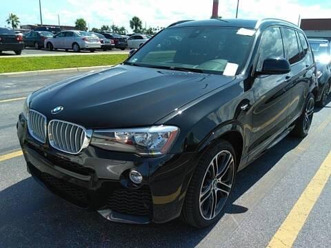 2017 BMW X3 for sale at Florida Fine Cars - West Palm Beach in West Palm Beach FL