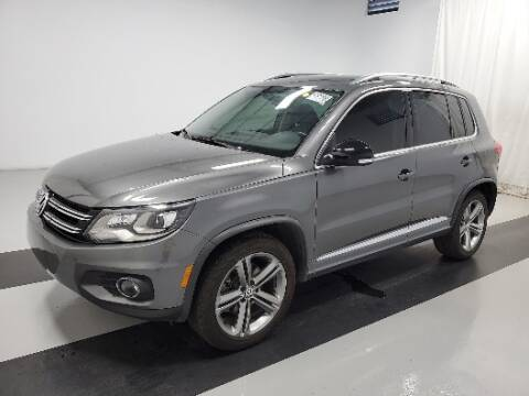 2017 Volkswagen Tiguan for sale at Florida Fine Cars - West Palm Beach in West Palm Beach FL