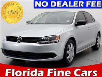 2011 Volkswagen Jetta for sale in West Palm Beach, FL
