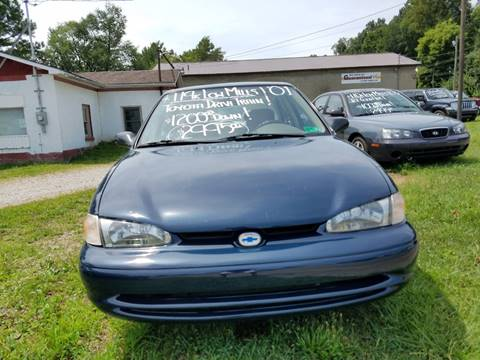 2001 Chevrolet Prizm for sale in Parkersburg, WV