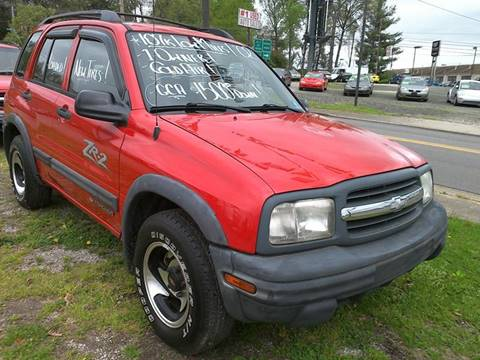 2002 Chevrolet Tracker for sale in Parkersburg, WV