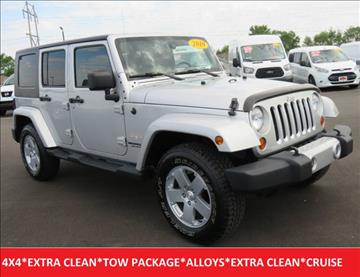 2010 Jeep Wrangler Unlimited for sale in Lafayette, IN