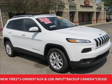 2016 Jeep Cherokee for sale in Lafayette, IN