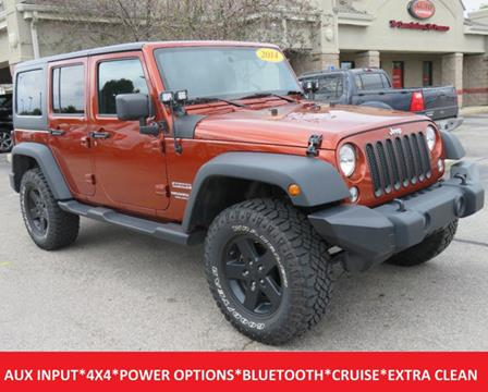 2014 Jeep Wrangler Unlimited for sale in Lafayette, IN