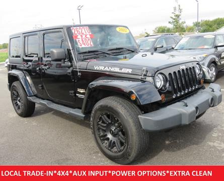 2012 Jeep Wrangler Unlimited for sale in Lafayette, IN