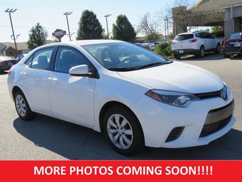 2016 Toyota Corolla for sale in Lafayette, IN