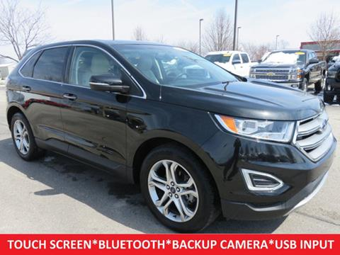 2015 ford edge for sale in indiana. Black Bedroom Furniture Sets. Home Design Ideas