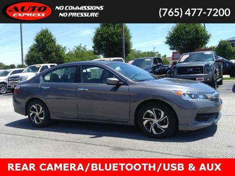 2016 Honda Accord for sale in Lafayette, IN
