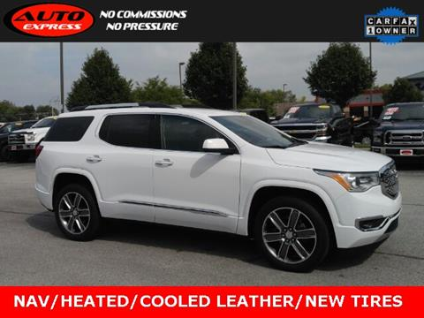 2019 GMC Acadia for sale in Lafayette, IN