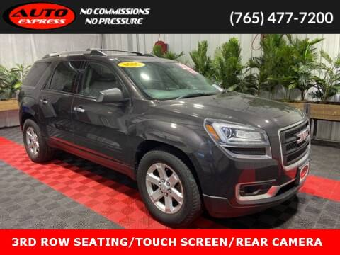 2016 GMC Acadia for sale at Auto Express in Lafayette IN
