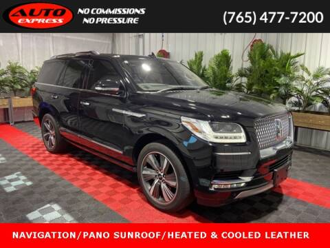 2019 Lincoln Navigator for sale at Auto Express in Lafayette IN