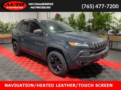 2016 Jeep Cherokee for sale at Auto Express in Lafayette IN