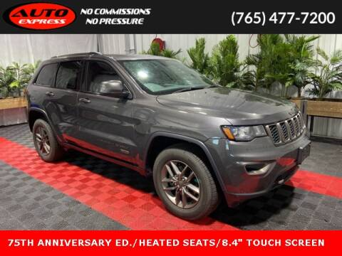 2016 Jeep Grand Cherokee for sale at Auto Express in Lafayette IN