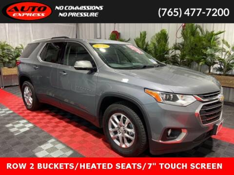 2018 Chevrolet Traverse for sale at Auto Express in Lafayette IN