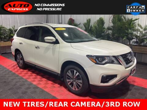 2017 Nissan Pathfinder for sale at Auto Express in Lafayette IN
