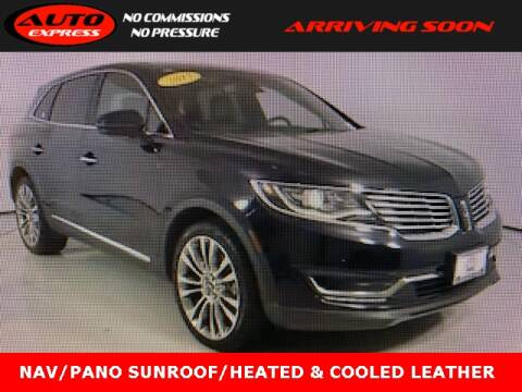 2017 Lincoln MKX for sale at Auto Express in Lafayette IN