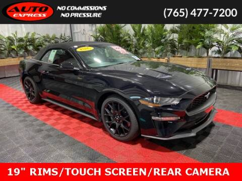 2018 Ford Mustang for sale at Auto Express in Lafayette IN