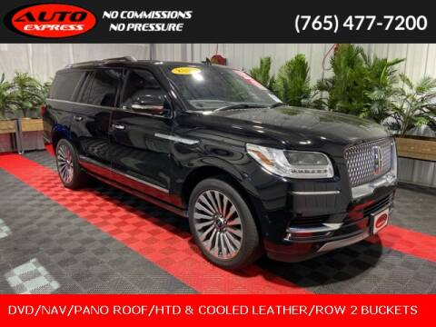 2018 Lincoln Navigator L for sale at Auto Express in Lafayette IN