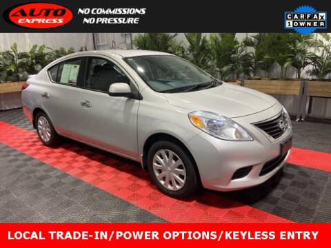 2013 Nissan Versa for sale at Auto Express in Lafayette IN