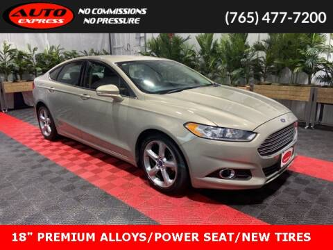 2015 Ford Fusion for sale at Auto Express in Lafayette IN