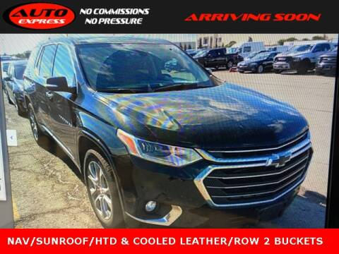 2019 Chevrolet Traverse for sale at Auto Express in Lafayette IN