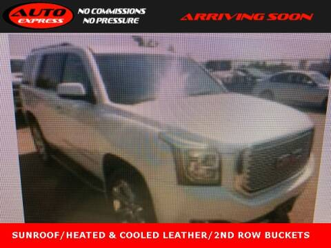 2016 GMC Yukon for sale at Auto Express in Lafayette IN